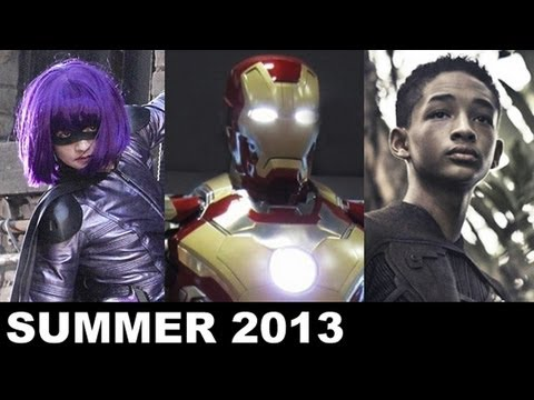 Summer Movies 2013 - Iron Man 3, Kick Ass 2, The Wolverine, Man of Steel - Beyond The Trailer