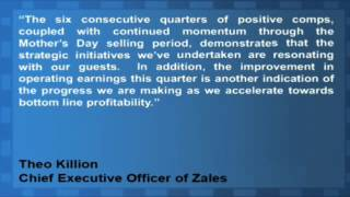 Zale Corporation Up Despite Disappointing EPS
