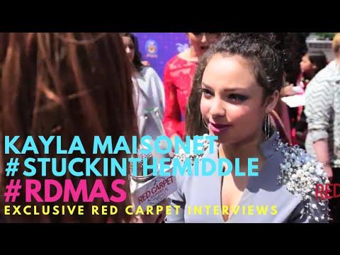 Kayla Maisonet #StuckInTheMiddle at the 2016 Radio Disney Music Awards #RDMAs #RedCarpet
