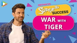 Hrithik Roshan EXCLUSIVE On WAR With Tiger Shroff, Satte Pe Satta Remake, Krrish 4 | Super30