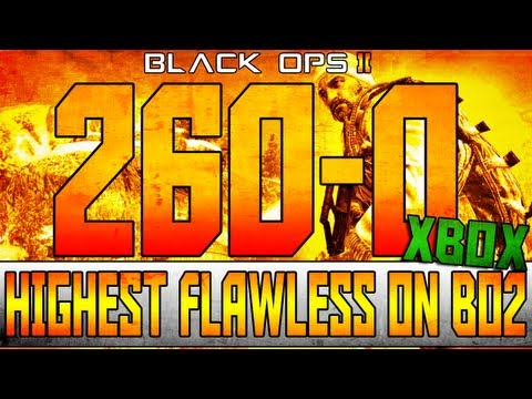 BO2: 260-0 Worlds Highest Flawless In Black Ops 2 & Most Kills On Xbox!