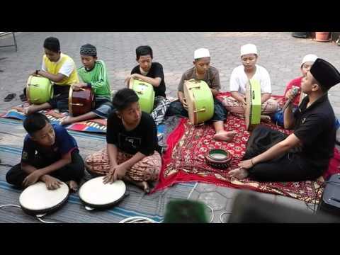 Latihan hadroh Al Muhyi versi regge (kreasi tanpa batas)