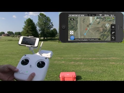 DJI Phantom 2 Vision Plus Ground Station Demonstration