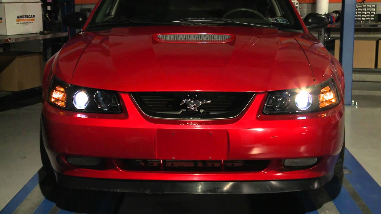 Mustang Smoked Projector Headlights 99 04 All Review