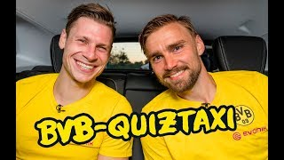BVB Quiztaxi 2019 | The FINAL! with Reus/Götze, Schmelzer/Piszczek and Co.