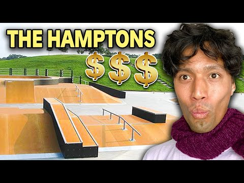 Skatepark Built For Rich People