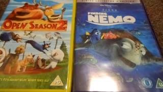 Open Season 2 And Finding Nemo (UK) DVD Unboxing