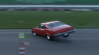 INSANE Chevy Nova 360 SPIN!!! - Pucker Factor 10.0