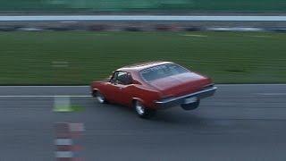 INSANE Chevy Nova 360 SPIN!!! - Pucker Factor 10.0