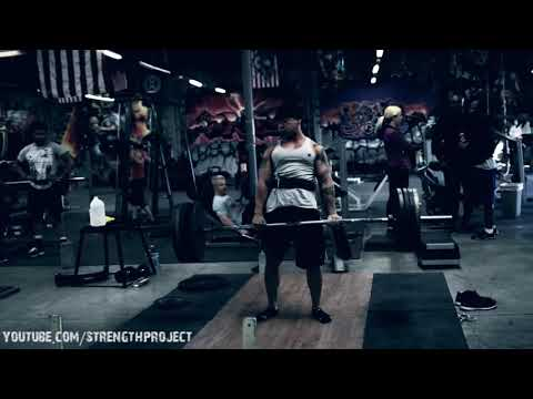 Back Workout with CT Fletcher- deadlifts, rows Image 1