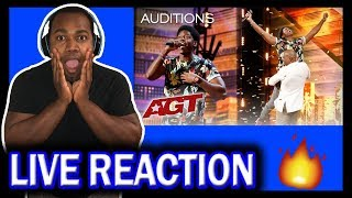 Golden Buzzer: Joseph Allen Leaves Exciting Footprint With Original Song - AGT 2019 REACTION