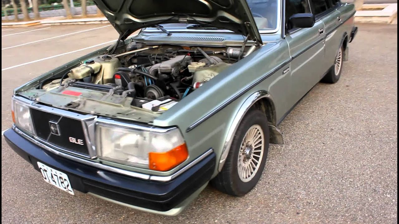 1984 VOLVO 240 GLE - YouTube