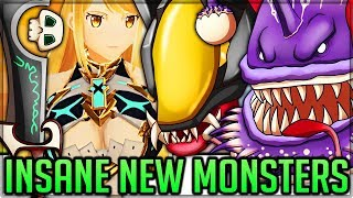 GOBUL IS IN GAME - Alien Queen Fight - Xenoblade VS Pro and Noob - Monster Hunter World PC Mods!
