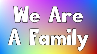 We Are A Family | Jack Hartmann