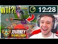 WTF JUST HAPPENED???????? LOL??? - Journey To Challenger | League of Legends