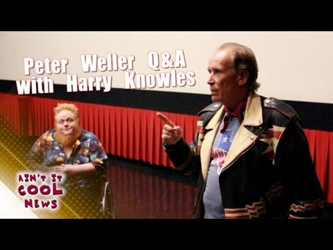 Peter Weller Q&A with Harry Knowles