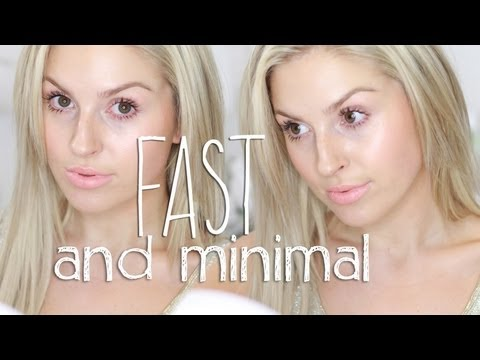 Fast & Minimal Makeup ♡ My Spring Go-To Look! Shaaanxo