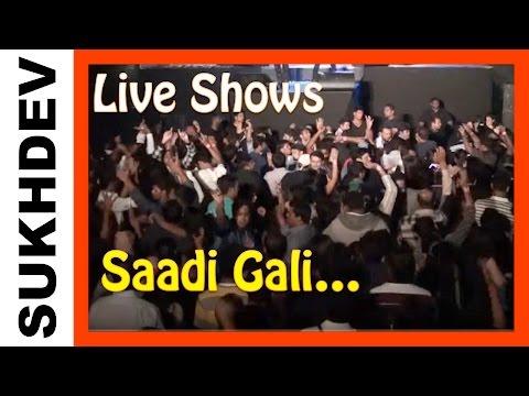 Sukhdev - Saadi Gali - Live Performance Tanu weds Manu
