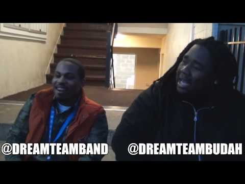 @DreamTeamBudah Speaks on @DreamTeamBand GOGO AWARDS 2012
