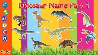 Dinosaurs Name Part 1 BY KidsW