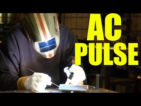 🔥 AC Aluminum Pulse Welding (Everlast PowerTIG 200DV)
