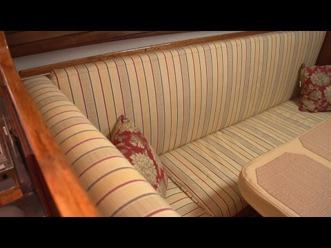 How to Make Salon Cushions for your Boat
