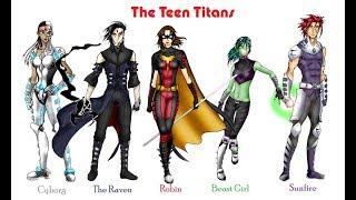 Teen Titans Gender-bend