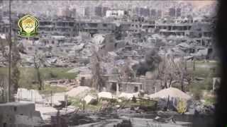 المعارضة السورية تسيطر على مواقع في حي جوبر