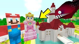 TOP 5 Secrets HIDDEN In The Mario Mash-up World [MUST SEE] (Minecraft Switch)