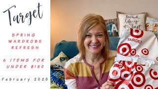 Target Haul - February 2020:  Spring transition refresh - 6 items for under $150!