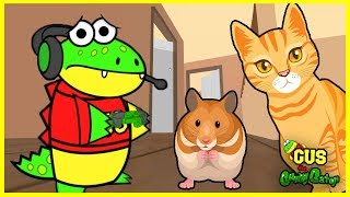 Let's Play Hamster Simulator with VTubers Gus