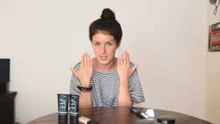 How to Apply Natural Foundation with Shenae Grimes-Beech - Two Halves Tutorial
