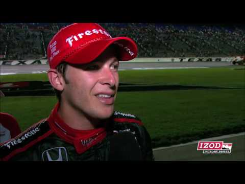 Marco Andretti: 3rd at Texas Video