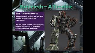 Brief History Of Battletech - Part 1 - Before the game
