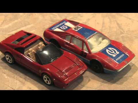 Classic Toy Room - 1981 PIONEER FERRARI 308 GTB MATCHBOX car review