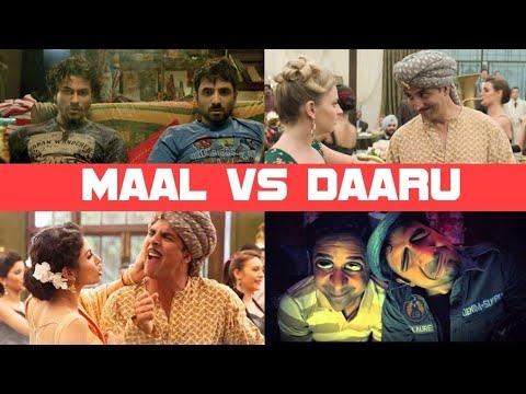 Maal vs Daaru| On bollywood song vine style ||