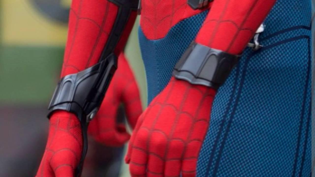 Real life spiderman web shooter