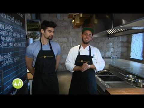 Freddie a konyhában,mestere: Alessandro Manna konyhafőnök