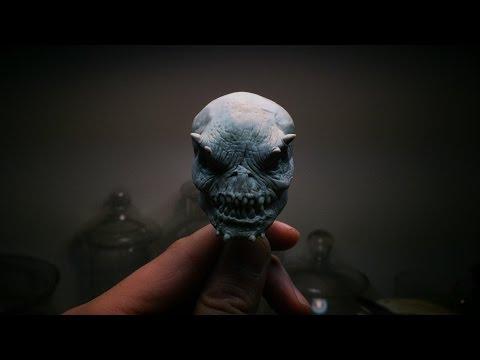 Demon Head Quick Sculpt