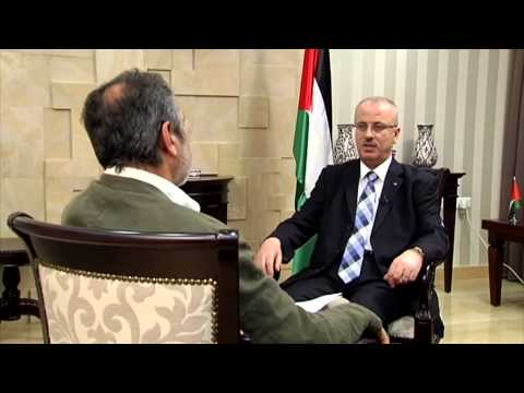 Interview with  Prime Minister of Palestinian Authority Rami Hamdallah for Rainews 24
