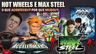 O que ACONTECEU com AS ANIMAÇÕES da HOT WHEELS e MAX STEEL da Mattel? POR QUE MUDOU?