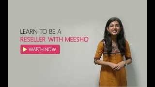 How to Earn Online by Reselling with Meesho | English