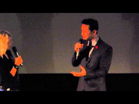 Joseph Gordon-Levitt in Paris - Don Jon premiere