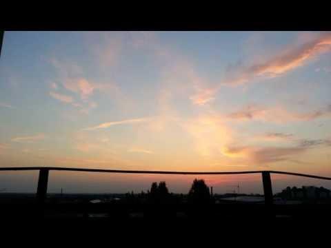 Sunrise In Nalchik Time Lapse Восход в Нальчике промежуток времени