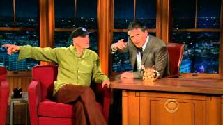 Late Late Show with Craig Ferguson 11/17/2009 Woody Harrelson, Joe Theisman