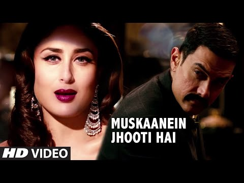 Talaash Muskaanein Jhooti Hai Full  Song  Aamir Khan, Kareena Kapoor, Rani Mukherjee