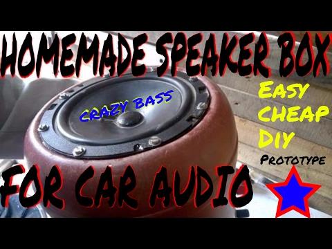 Homemade Speaker Box | Speaker Enclosure | Easy To Make | Free | DIY | Crazy Bass | For Car Audio