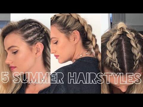 5 QUICK & EASY WAYS TO STYLE PLAITS FOR SUMMER & FESTIVALS   SYD AND ELL