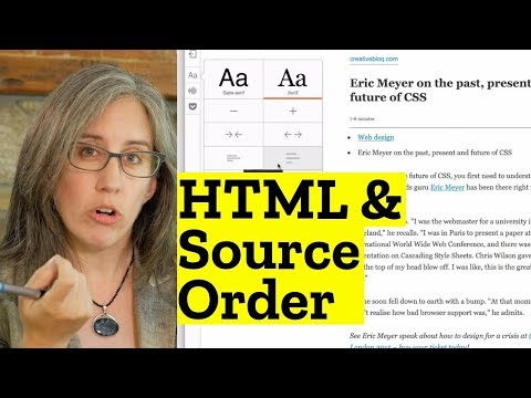 Download  HTML Source Order and When There's No CSS Gratis, download lagu terbaru