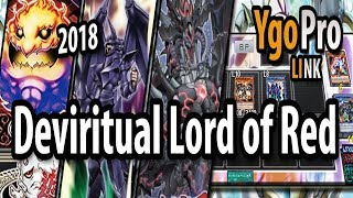 Deviritual Lord of Red (YgoPro) - Lord of Red-Eyes DECK 2018!